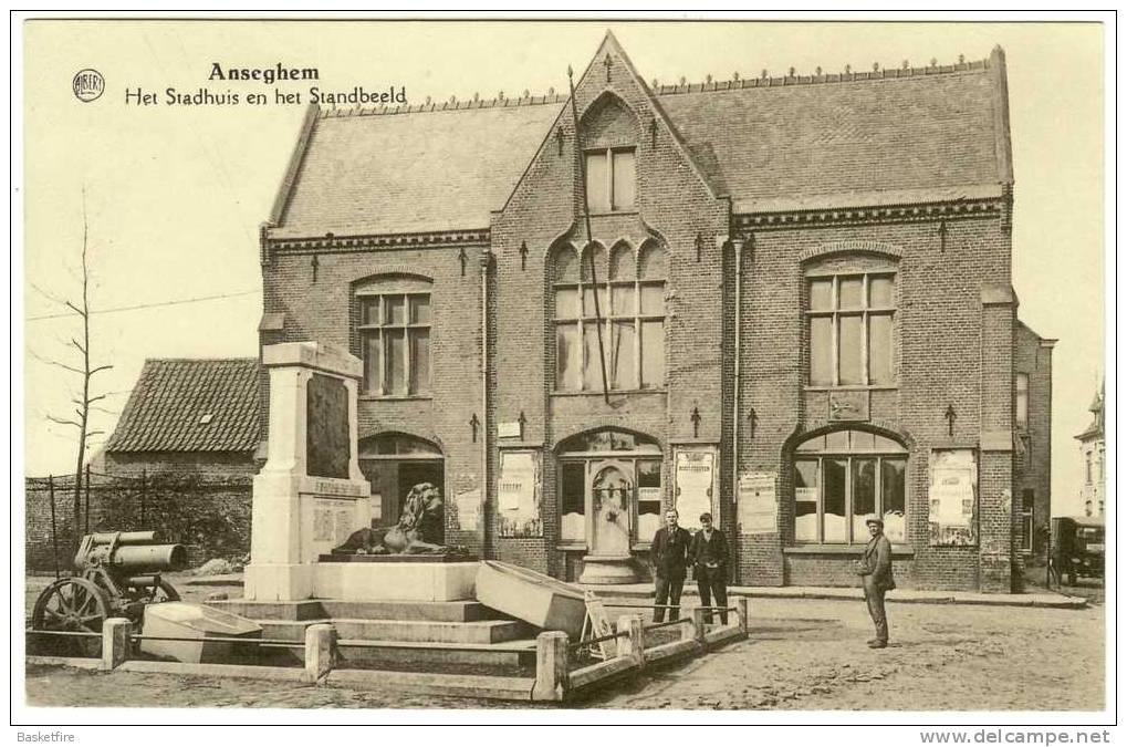 Postkaart Anzeghem